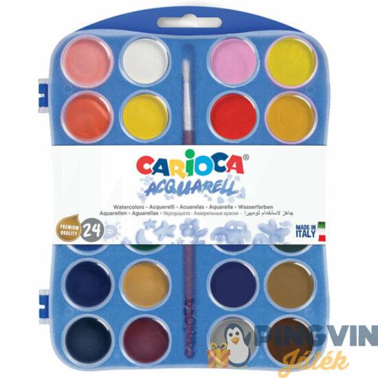 Carioca - Vízfesték készlet 24 színnel (42401)