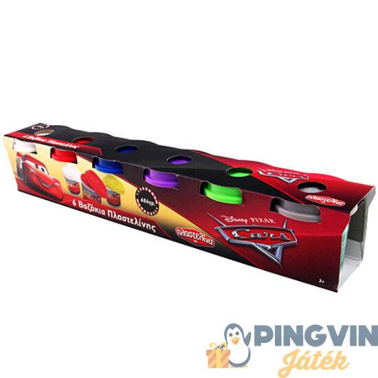 Verdák 6db-os gyurmaszett tégelyben - AS Toys