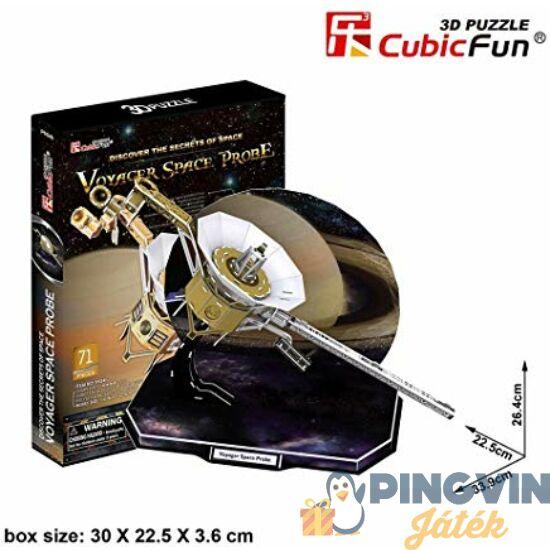 Voyager űrszonda 3D puzzle 71db-os - CubicFun