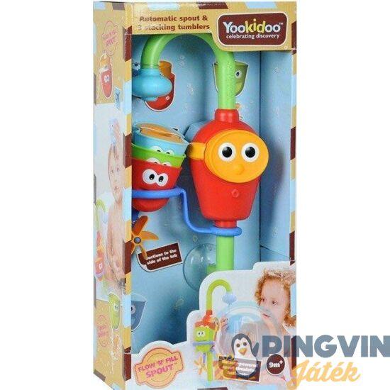 Yookidoo: Fürdőjáték-formatöltögető