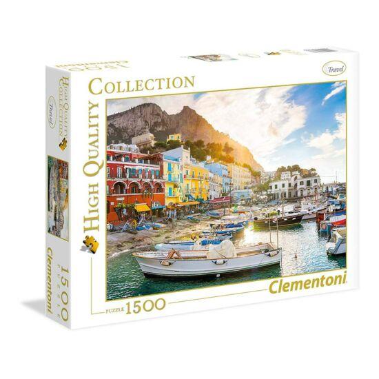 Clementoni: Capri Olaszország,1500 db-os puzzle