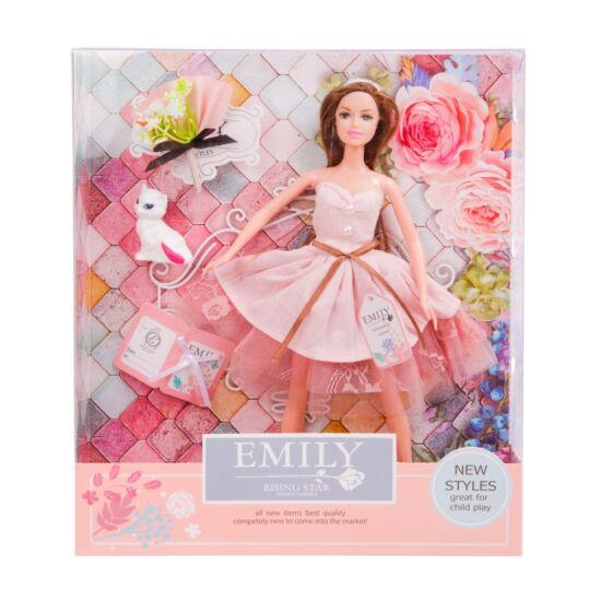 Emily divatbaba kiegészítőkkel, 30 cm 620103826