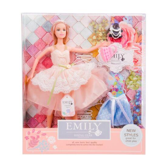 Emily divatbaba kiegészítőkkel, 30 cm 620103829
