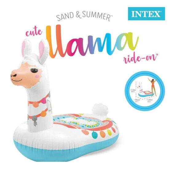 Intex - Láma lovagló 135x94x112 cm