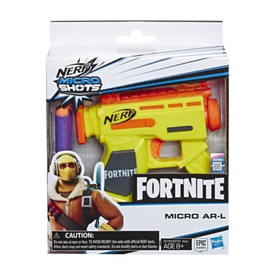 Hasbro - Nerf Fortnite Micro AR-L kilövő fegyver  (E6750)