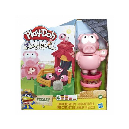 Hasbro - Play-Doh: Dagonyázó malacok gyurma készlet (E6723)