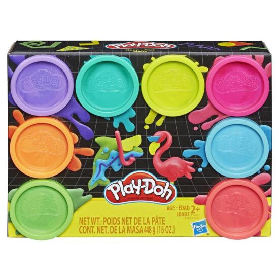 Hasbro - Play-Doh: 8db-os gyurmakészlet 448 g (E5044/E5063)