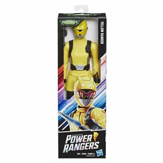 Hasbro - Power Rangers Figura 30cm-es-Yellow Ranger