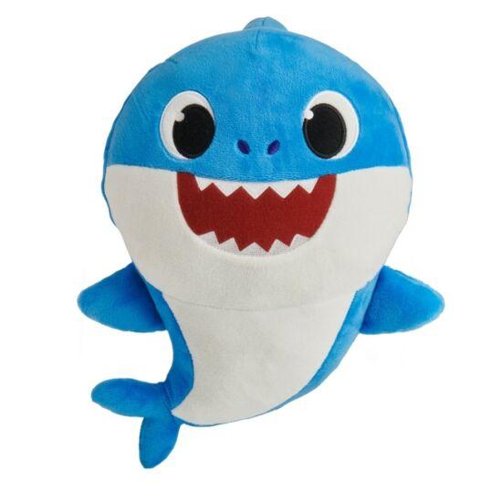 Smartplay - Baby Shark Cápa Család Zenélő Plüss, Apa Cápa