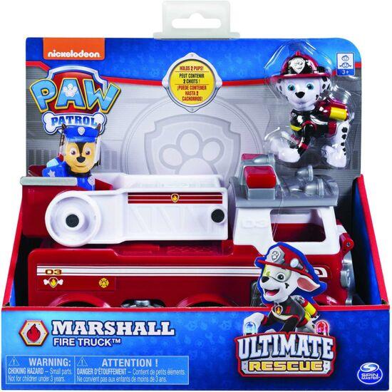Spin Master - Mancs Őrjárat alap járművek-Marshall tűzoltóautója