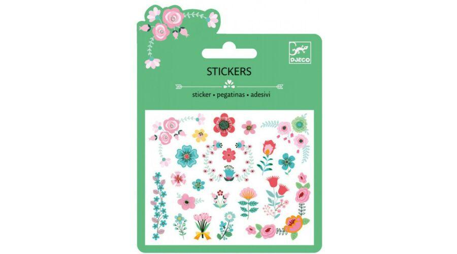 41f815c9b057 Djeco - Matrica lapon, csillógó virágok - 450 Ft - Matricák, tetoválások