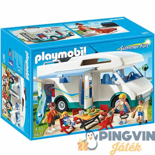 Playmobil: Négykerekű nyaraló 6671
