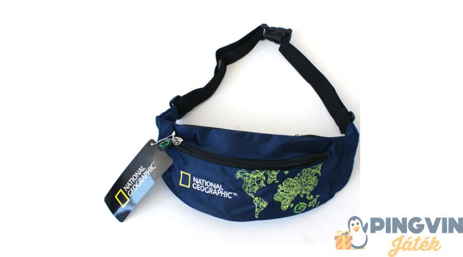 a50bbe6a5bb8 Unipap National Geographic kék övtáska 10*26*7 cm - 2.690 Ft ...