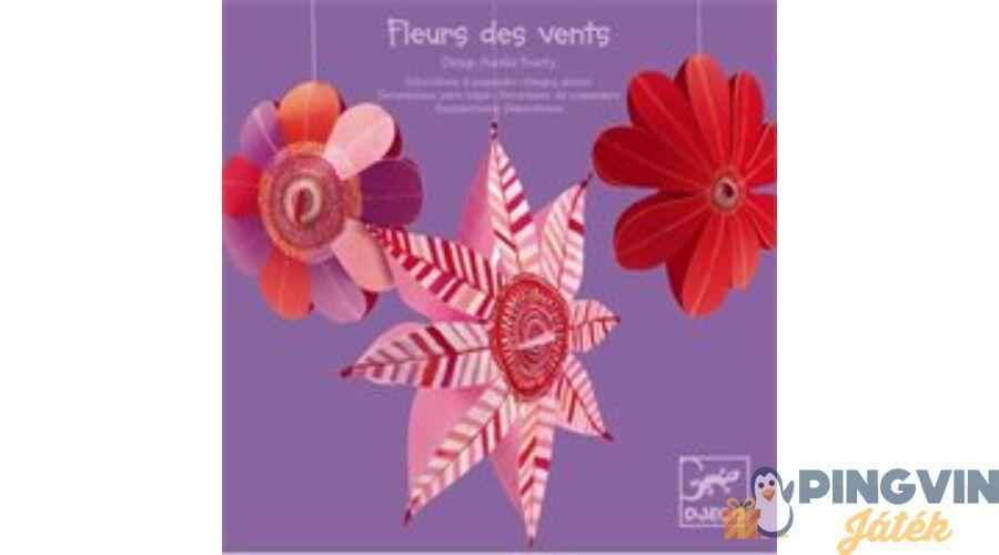 55d2dc0e63bc Djeco - Függő virágok 4951 - 1.990 Ft - Fali dekorációk