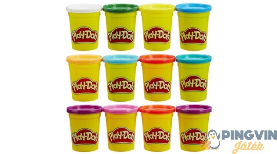 caf91ebed4 Play-doh gyurma 6+6 tégely - Hasbro - 3.825 Ft - Gyurma és gipsz szettek