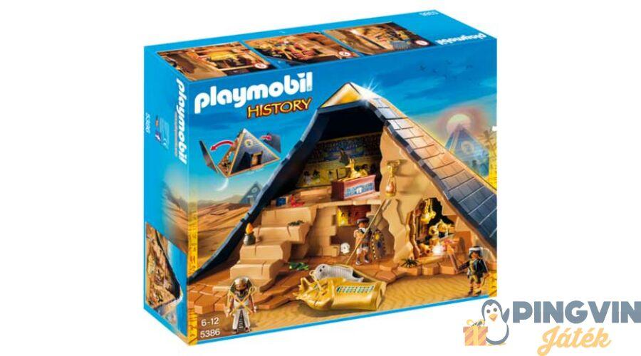 cbdae772f7 Playmobil Playmobil: A fáraó rejtélyes piramisa 5386 - 27.690 Ft ...