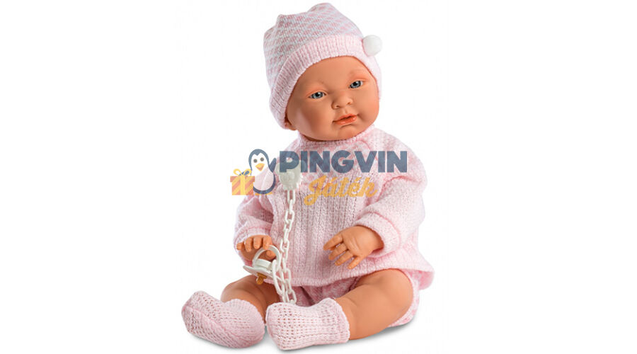 Llorens - Csecsemő baba rózsaszín ruhában ázsiai 45cm - 10.999 Ft ... b5882e8f8d