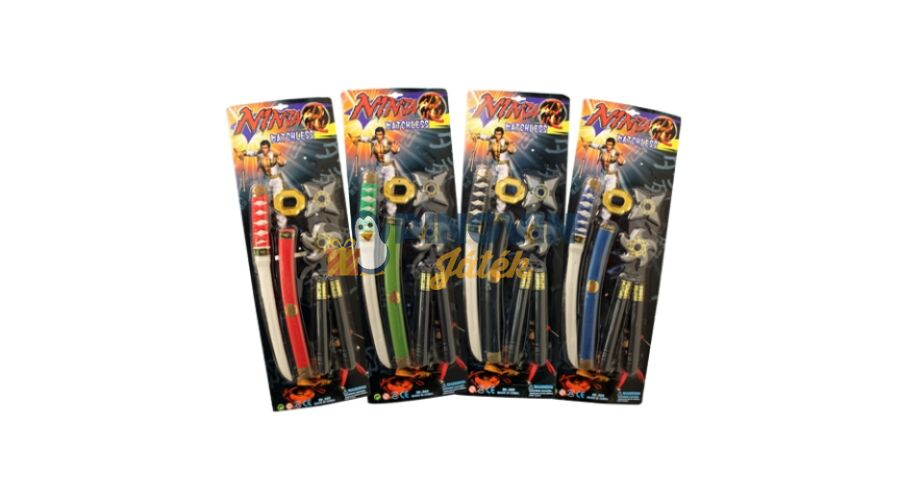 4650ad94d3ff Ninja fegyver szett 4-féle - 1.590 Ft - Játék kardok, pajzsok