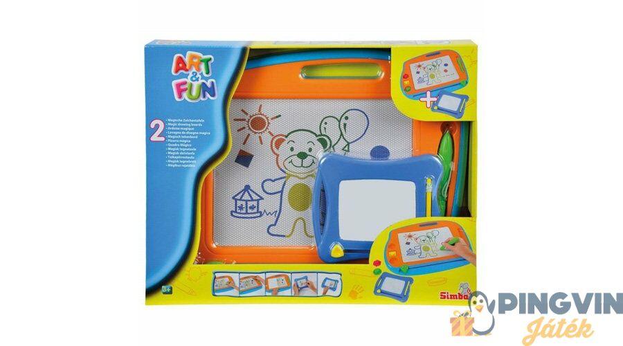Simba - Art Fun Színes mágnestábla 1 nagy és 1 kicsi - 6.490 Ft ... 8fc1363335